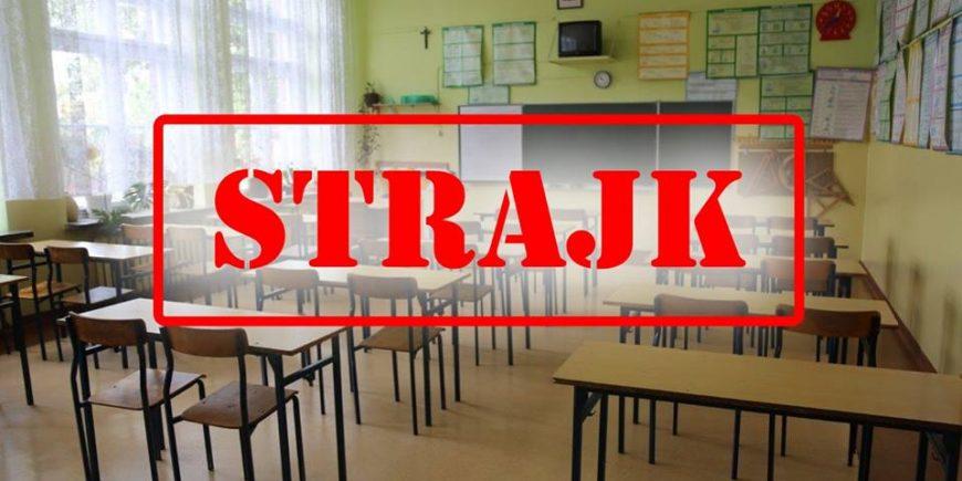 strajk-nauczycieli-Żyrardów